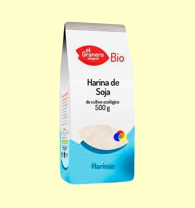 Farina de soja Bio - El Granero - 500 grams