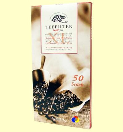 Filtres de Te Extra Fins - Teeli - 50 filtres mida XL