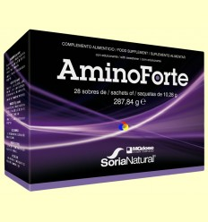 AminoForte - Aminoàcids vegetals - MGdose - 28 sobres