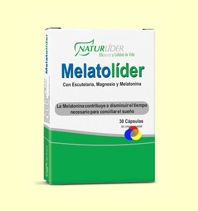 Melatolider - Melatonina - Naturlider - 30 càpsules