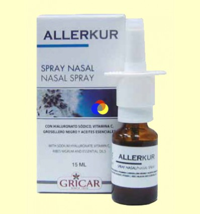 Allerkur Spray Nasal - Gricar - 15 ml