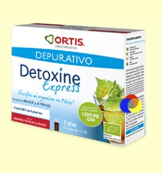 Detoxine Express BIO - Laboratoris Ortis - 7 ampolles