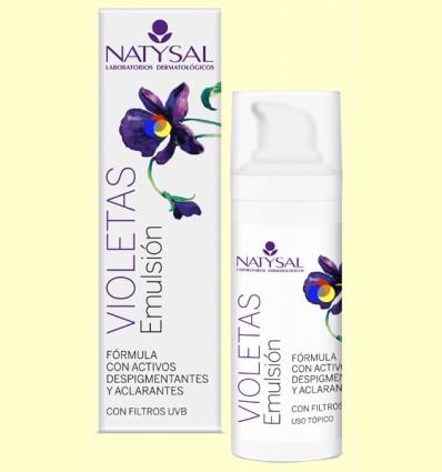 Crema de Violetes Emulsió - Natysal - 30 ml