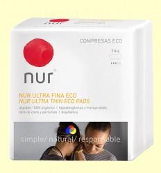 Compresa Ultrafina Eco - Nur - 14 unitats