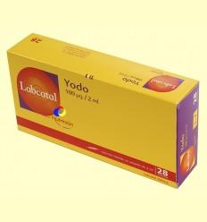 Labcatal 7 - Iode - Oligoelements - 28 ampolles ******