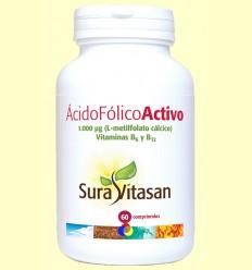 Àcid Fòlic Actiu - Sura Vitasan - 60 comprimits