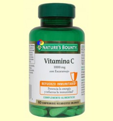 Vitamina C 1000 mg amb Gavarrera - Nature's Bounty - 60 comprimits *