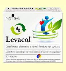 Levacol - Colesterol - Natysal - 60 càpsules
