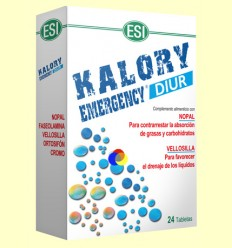 Kalory Emergency Diur - Laboratoris ESI - 24 comprimits