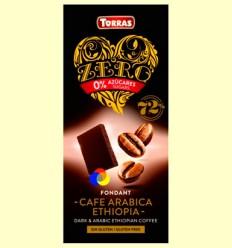 Xocolata negra amb Cafè Aràbiga Zero - Torras - 100 grams