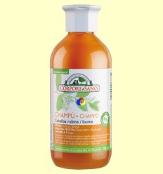 Xampú de Henna Cabells Rossos - Corpore Sano - 300 ml