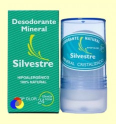 Desodorant Mineral Natural Incolor - Silvestre - 150 ml