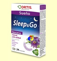 Sleep & Go - Somni - Laboratoris Ortis - 24 comprimits