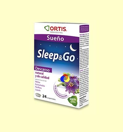 Sleep & Go - Somni - Laboratoris Ortis - 24 comprimits