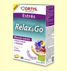 Relax & Go - Estrès - Laboratoris Ortis - 30 comprimits