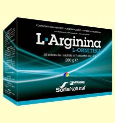 L-Arginina L-Ornitina - MGdose -28 sobres