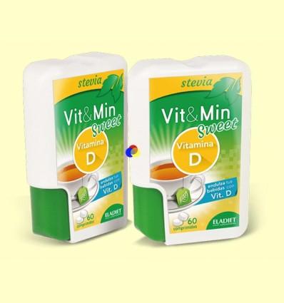 Vit & Min Sweet Vitamina D - Eladiet - 60 comprimits