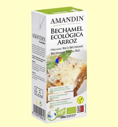 Beixamel d'Arròs Bio - Amandin - 200 ml
