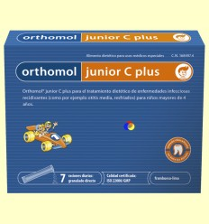 Orthomol Junior C Plus - Laboratorio Cobas - 7 sobres