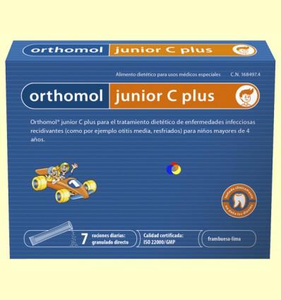 Orthomol Junior C Plus - Laboratorio Cobas - 7 sobres
