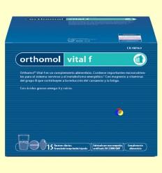 Orthomol Vital F - Granulat - Laboratorio Cobas - 15 racions