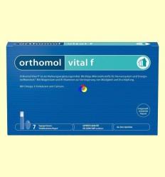 Orthomol Vital F - Vials - Laboratorio Cobas - 7 racions