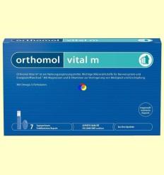 Orthomol Vital M - Vials - Laboratorio Cobas - 7 racions