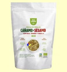 Barreja de Llavors de Cànem i Sèsam amb Kale, Ceba i Tomàquet - Eco Canem - 200 grams