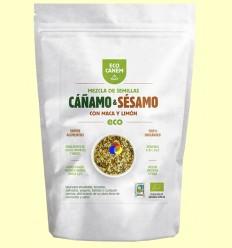Barreja de Llavors de Cànem i Sèsam amb Maca i Llimona Eco - Eco Canem - 200 grams