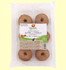 Galetes Integrals amb Mel i Canela Bio - Vegetalia - 200 grams