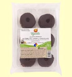 Galetes Integrals d'Espelta, Llimona i Xocolata Bio - Vegetalia - 200 grams