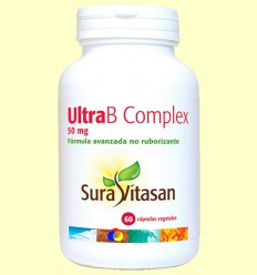 Ultra B Complex Coenzimada 50 mg - Sura Vitasan - 60 càpsules *
