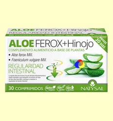 Aloe Ferox + Fonoll - Regulador Intestinal - Natysal - 30 comprimits