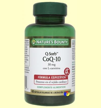 CoQ-10 - Q-Sorb - Nature 's Bounty - 60 càpsules