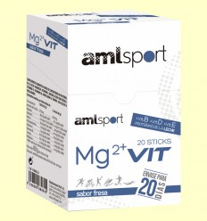 Mg2 + PRO Sabor Maduixa - amlsport - 20 sticks