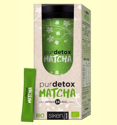 Purdetox Matcha Bio - Siken Form - 12 sticks
