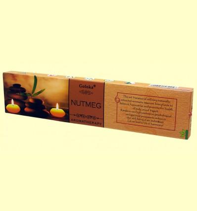 Encens Nutmeg - Goloka - 15 grams