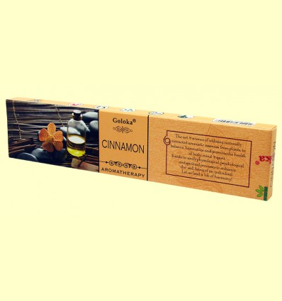 Encens Cinnamon - Goloka - 15 grams