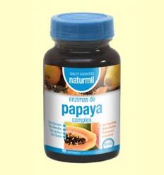 Enzims de Papaia Complex - Naturmil - 90 comprimits