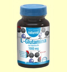 L-Glutamina 1000mg - Naturmil - 60 comprimits
