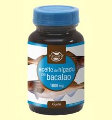 Oli de Fetge de Bacallà 1000mg - Naturmil - 45 perles