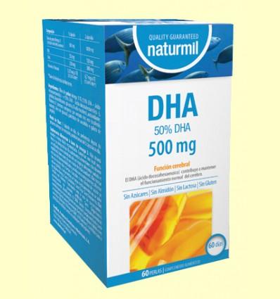 DHA 500mg - Naturmil - 60 perles
