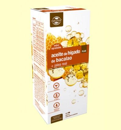 Oli de Fetge de Bacallà amb Gelea Reial Plus - Naturmil - 500 ml