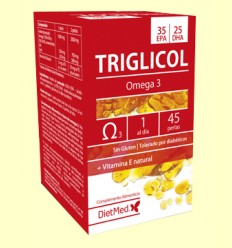 Triglicol Omega 35/25 - Dietmed - 45 perles