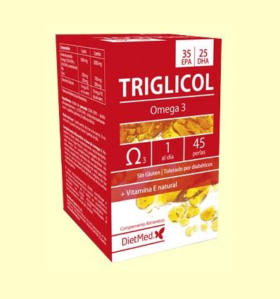 Triglicol Omega 35/25 - Dietmed - 45 perles