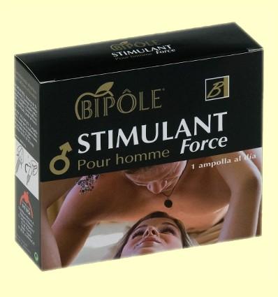 Stimulant Force Pour Homme - Energia - 12 ampolles - Bipôle
