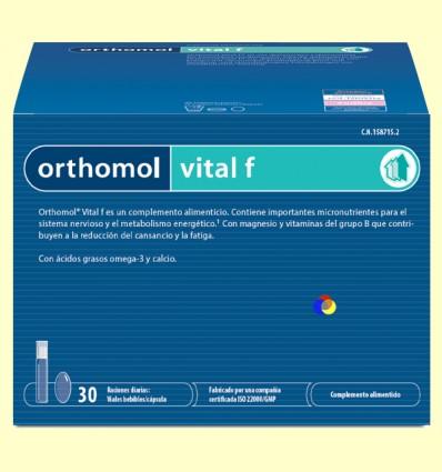 Orthomol Vital F - Vials - Laboratorio Cobas - 30 racions