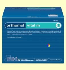Orthomol Vital M - Granulat - Laboratorio Cobas - 30 racions
