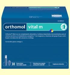 Orthomol Vital M - Vials - Laboratorio Cobas - 30 racions
