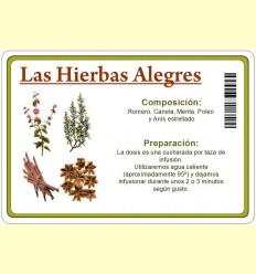 Les Herbes Alegres per Infusió - 60 grams.